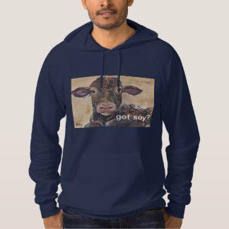 got soy? hoodie