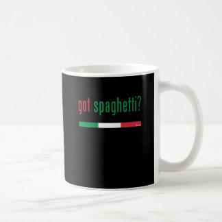Got Spaghetti MULTI Basic White Mug