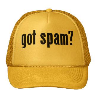 got spam? mesh hat