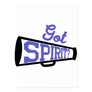 Got Spirit? Postcard