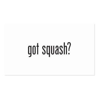 got squash business card