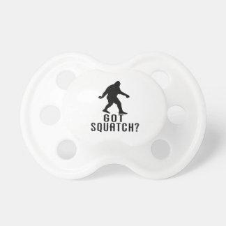 Got Squatch Baby Pacifier