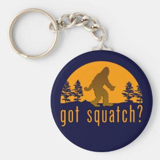 Got Squatch? Basic Round Button Key Ring