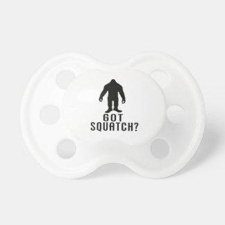 Got Squatch Pacifiers