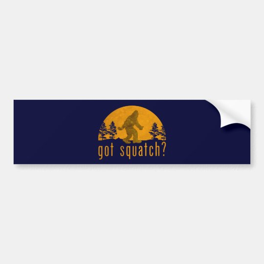 Got Squatch? Vintage Bumper Sticker