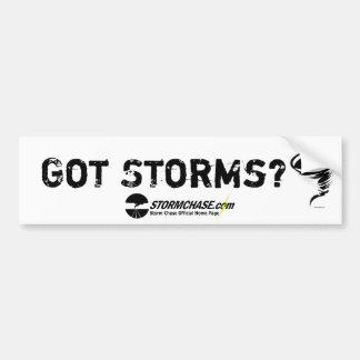 Got Storms? Bumper Sticker