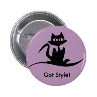 Got Style Cat purple button
