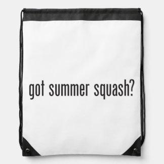 got summer squash drawstring bags