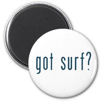 got surf 6 cm round magnet