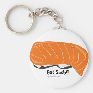 Got Sushi? Basic Round Button Key Ring