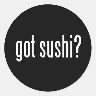 Got Sushi? Classic Round Sticker