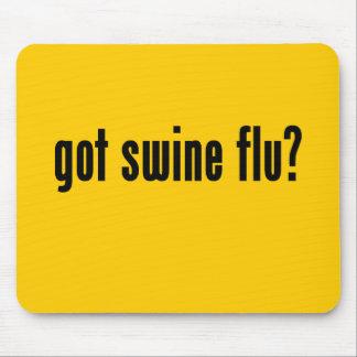 got swine flu mousepad