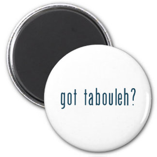 got tabouleh 6 cm round magnet