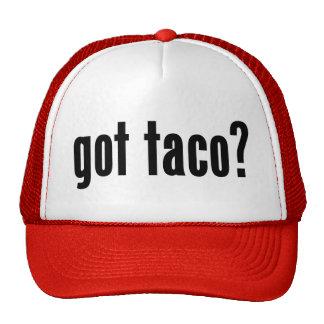 got taco? mesh hats