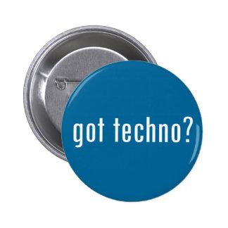 got techno? 6 cm round badge