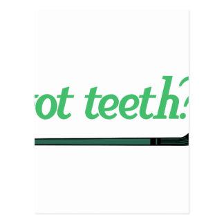 Got Teeth Postcard