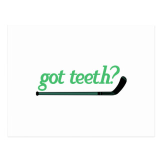 Got Teeth Postcard