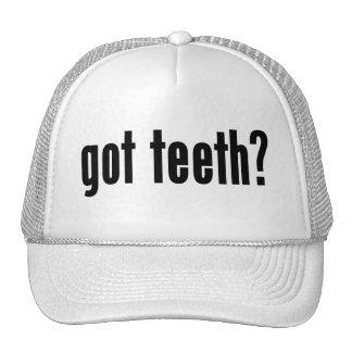got teeth? trucker hats