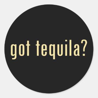 got tequila? classic round sticker