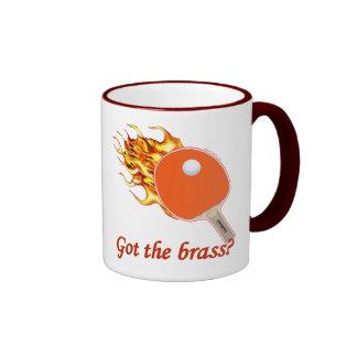 Got The Brass Flaming Ping Pong Ringer Mug