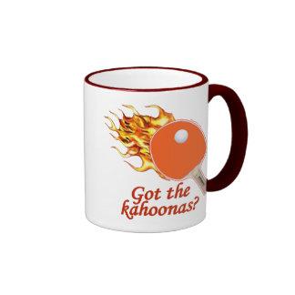 Got The Kahoonas Flaming Ping Pong Ringer Mug