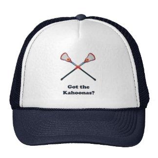 Got The Kahoonas Lacrosse Hats