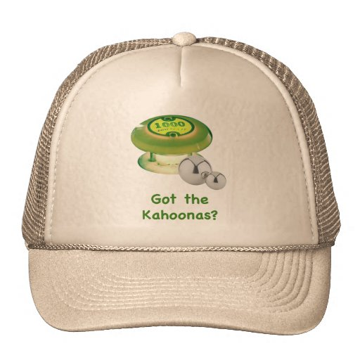 Got the Kahoonas Pinball Hats