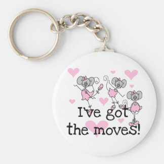 Got The Moves Ballet T-shirts and Gifts Basic Round Button Key Ring