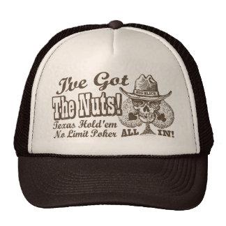 Got the Nuts Texas Poker Cap
