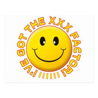 Got The XXX Smiley Postcard