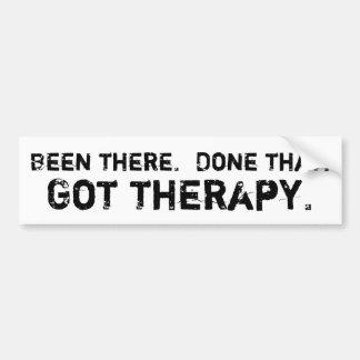 Got Therapy Bumper Sticker