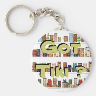 Got Tiki ? Key Ring