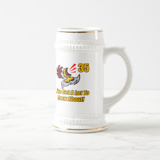 Got To Crow 35th Birthday Gifts Coffee Mug