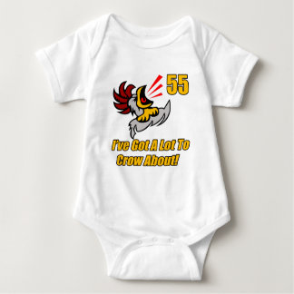 Got To Crow 55th Birthday Gifts Shirts