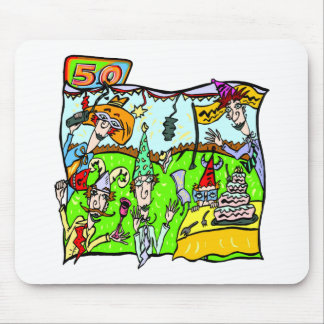 Got To Party 50th Birthday Gifts Mouse Pads