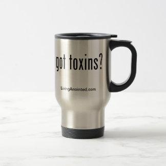 got toxins? tumbler stainless steel travel mug