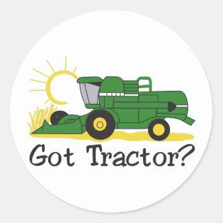 Got Tractor? Round Sticker