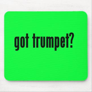got trumpet mousepad