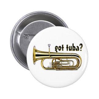 got tuba? 6 cm round badge