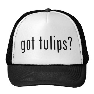 got tulips? mesh hats