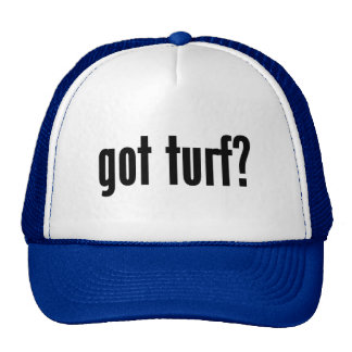 got turf? trucker hat