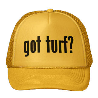 got turf? trucker hats