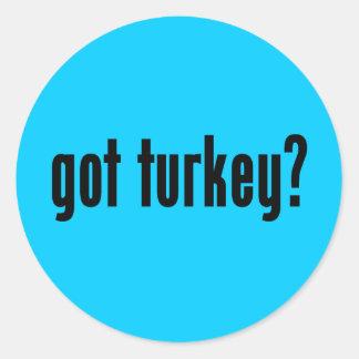 got turkey? stickers