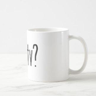 got tv? coffee mug