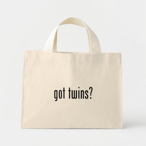 got twins? bags