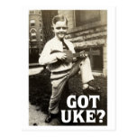 Got Uke? Postcard