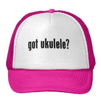 got ukulele? trucker hat
