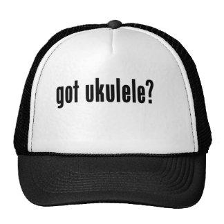 got ukulele? mesh hats