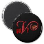 Got V - Vampire Blood 6 Cm Round Magnet