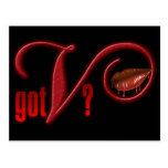 Got V - Vampire Blood Post Card